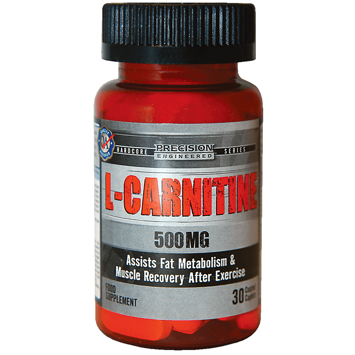 Precision Engineered L Carnitine Tablets 500mg - 30  Tablets