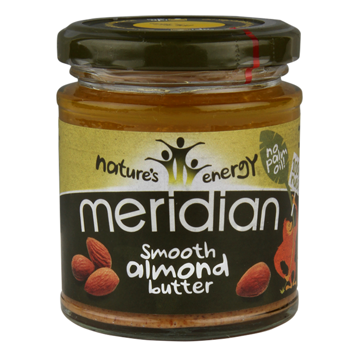 Meridian Smooth Almond Butter 170gr