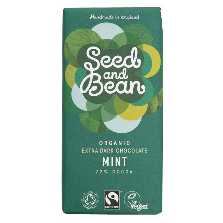 Seed And Bean 72% Dark Mint Bio