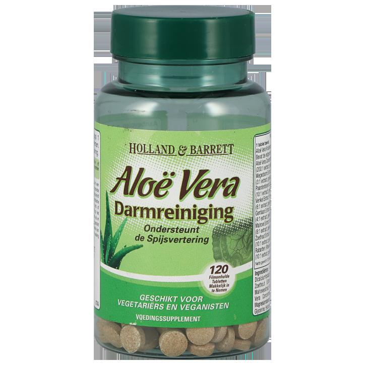 Holland & Barrett Aloe Vera Darmreiniging 120 Tabletten