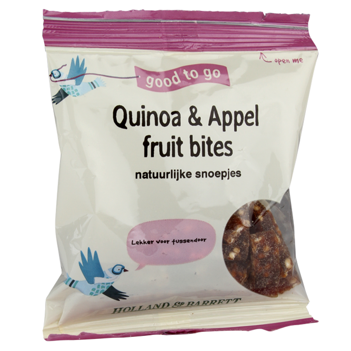 Holland & Barrett Quinoa & Appel Fruit Bites