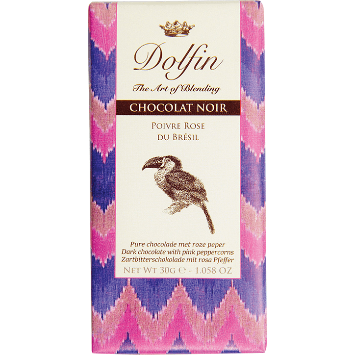 Dolfin Pure Chocolade Roze Peper
