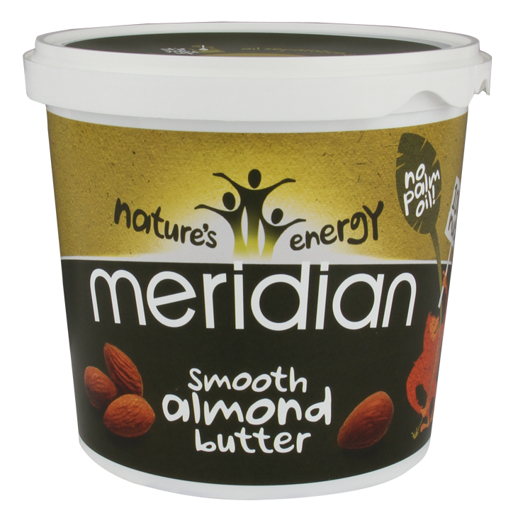 Meridian Smooth Almond Butter 1000gr