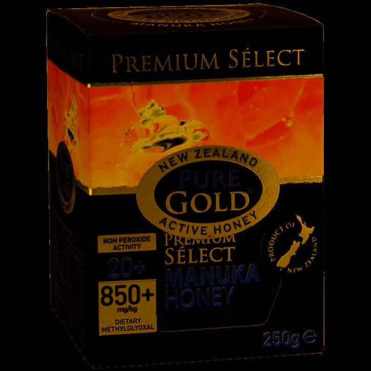 Pure Gold Manuka Honey NPA 20+ 250g Jar - 250g