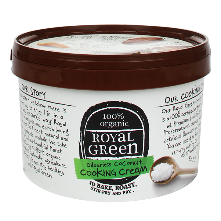 Royal Green Org Coconut Cooking Cream