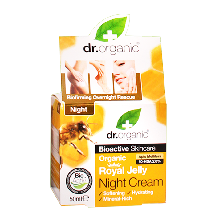 Dr. Organic Royal Jelly Nachtcrème