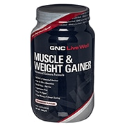 GNC Muscle & Weight Gainer Powder Strawberry