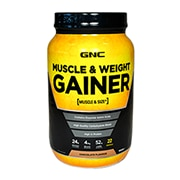 GNC Muscle & Weight Gainer Chocolate 681g Powder