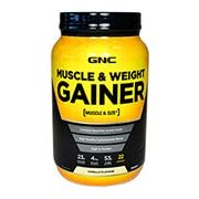 GNC Muscle & Weight Gainer Powder Vanilla