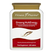 Fitness Pharma Ginseng MultiEnergy Tablets