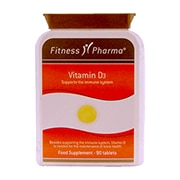 Fitness Pharma Vitamin D3 90 Tablets