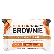 The Protein Works Brownie Choc Caramel Blast 40g
