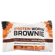 The Protein Works Brownie Choc Hazelnut Indulgence 40g