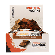 The Protein Works Brownie Choc Caramel Blast 12 x 40g