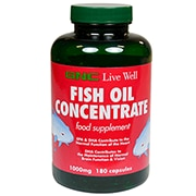 GNC Fish Oil Concentrate 1000mg 60 Capsules