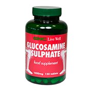 GNC Glucosamine Sulphate 1000mg 120 Tablets