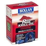 Bioglan Red Krill Double Strength Capsules