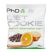PhD Diet Cookie Chocolate Orange 50g