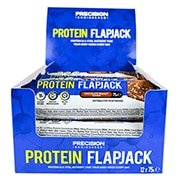 Precision Engineered Protein Flapjack Chocolate & Peanut 12 x 75g Bars