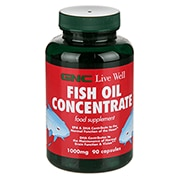 GNC Fish Oil Concentrate 1000mg 90 Capsules