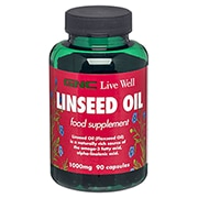 GNC Linseed Oil 1000mg