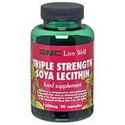 GNC Triple Strength Soya Lecithin Capsules 1200mg