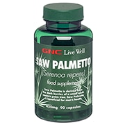 GNC Saw Palmetto 450mg 90 Capsules