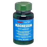 GNC Magnesium Tablets 250mg