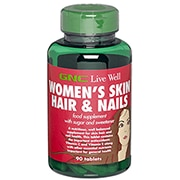 GNC Women's Skin Hair & Nails 90 Tablets