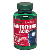 GNC Pantothenic Acid Tablets 500mg
