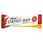 Etixx Energy Bar + Magnesium Lemon 12 x 40g