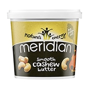Meridian Natural Cashew Butter 170g
