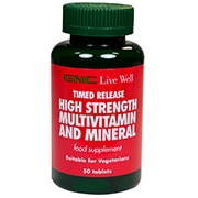 GNC High Strength Multivitamin Tablets