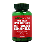 GNC High Strength Multivitamin 100 Tablets