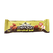 Meridian Almond Nut Bar 40g
