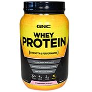 GNC Whey Protein Powder Strawberry