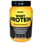 GNC Whey Protein Powder Cookies & Cream