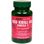 GNC Red Krill Oil Capsules 1000mg