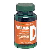 GNC Vitamin D 10ug 90 Tablets