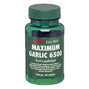 GNC Maximum Garlic 6500 Tablets 650mg