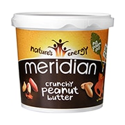 Meridian Natural Crunchy Peanut Butter No Salt 1kg