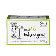 Urban Health Wheatgrass Powder 30 x 3.5g Sachets