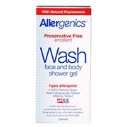 Allergenics Wash Shower Gel 200ml
