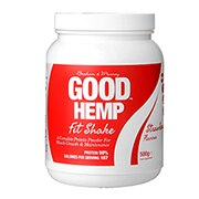 Braham And Murray Natural Hemp Protein Powder Strawberry 500g