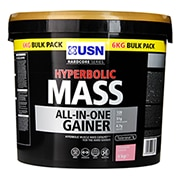 USN Hyperbolic Mass Powder Strawberry