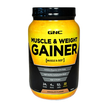GNC Muscle & Weight Gainer Powder Chocolate | gnc.co.uk