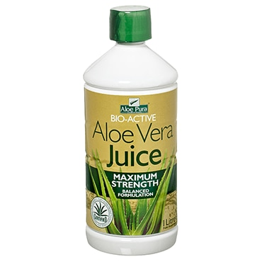 aloe pura aloe vera maximum strength juice. Black Bedroom Furniture Sets. Home Design Ideas