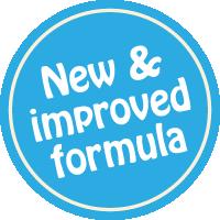 New & Improved Formula