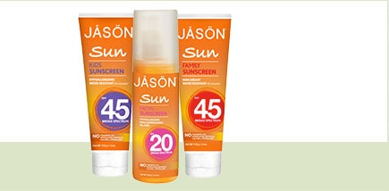 Jason Sun Care range