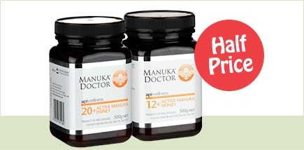 Half Price Manuka Doctor Honey